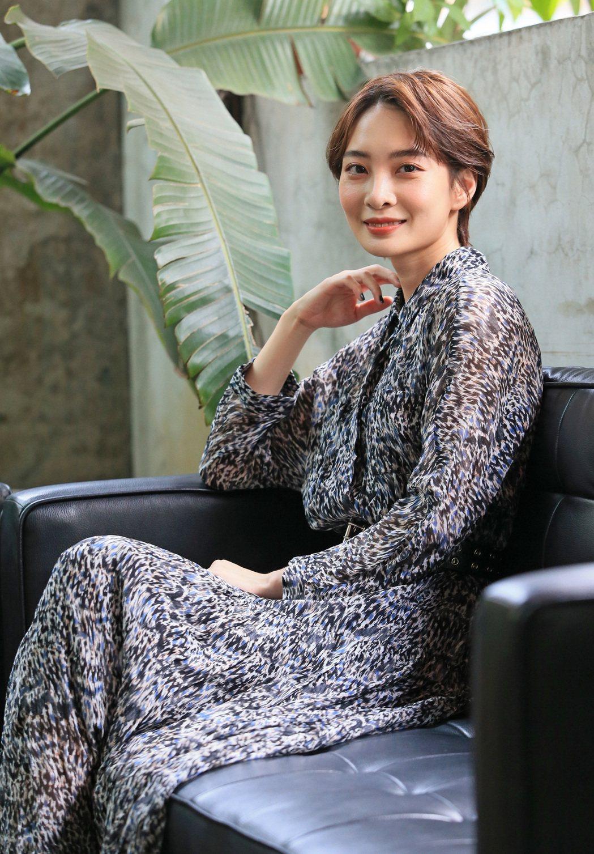 李亦捷在「野雀之詩」演媽,但戲外還暫時不想結婚。圖/記者潘俊宏攝影