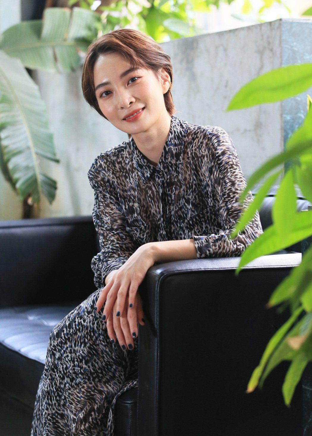 李亦捷在新片「野雀之詩」飾演酒家女,還特地到酒店見習。圖/記者潘俊宏攝影