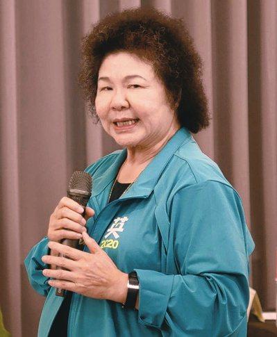 新任監委將在八月一日上任,陳菊將出任監察院長。圖/聯合報系資料照片
