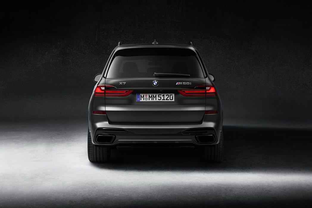 BMW X7 Dark Shadow Edition全球限量500台。 摘自BM...