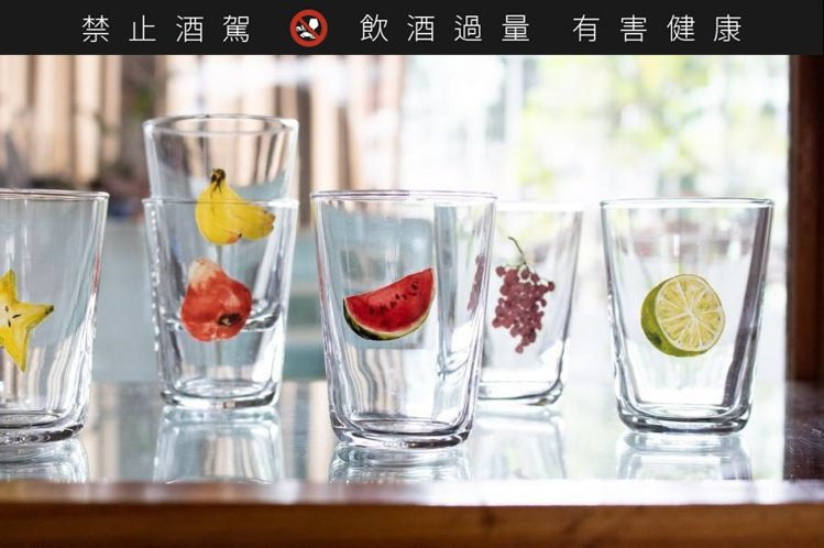 +t系列水果杯。圖/小器梅酒屋提供