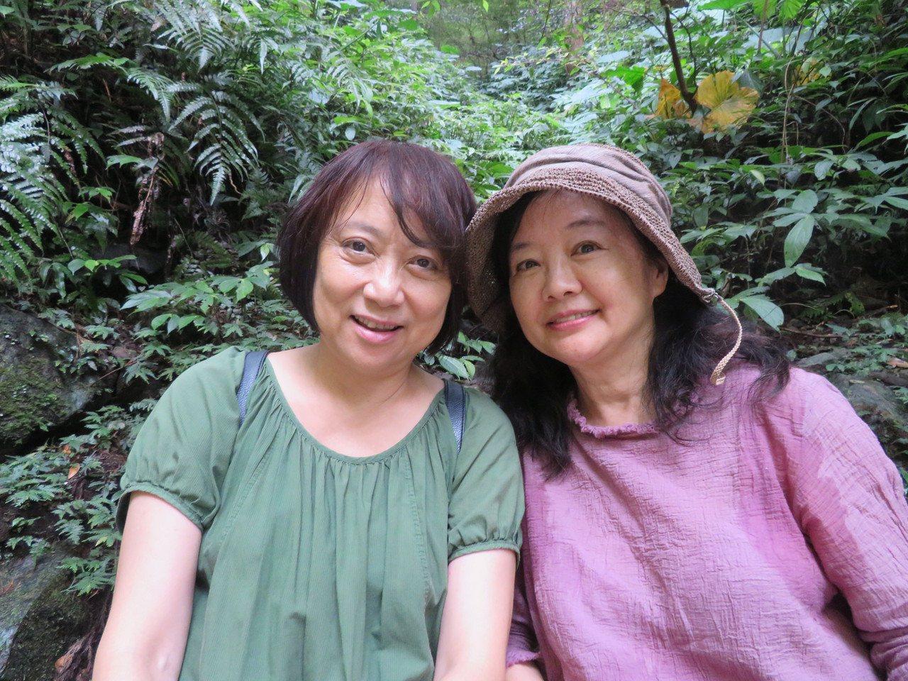 張詠漪(右)、何碧華(左)。圖/林育如攝影
