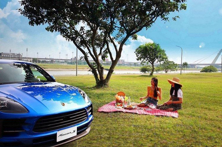 板橋凱撒大飯店選定專案可搭名車野餐去。圖/板橋凱撒大飯店提供