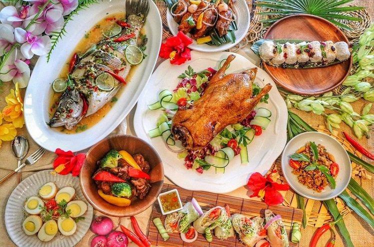板橋凱撒朋派自助餐現正推出「仲夏南洋嘉年華」美食饗宴。圖/板橋凱撒提供