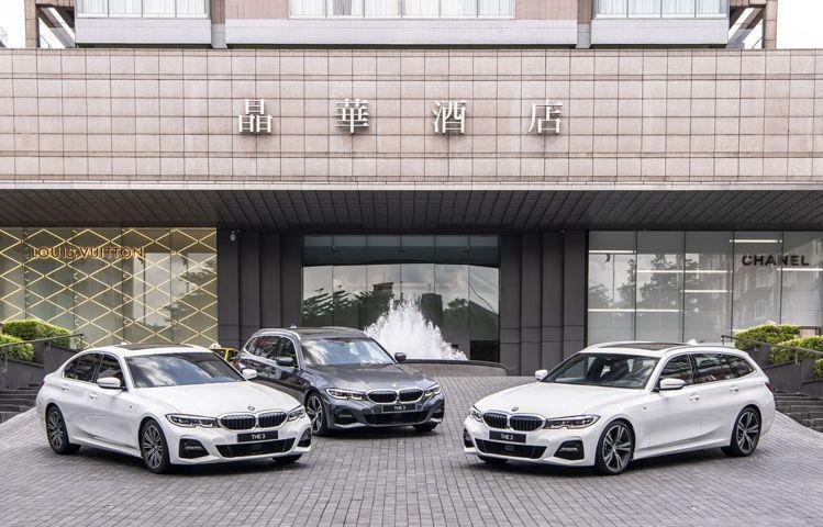 晶華酒店集團於台北晶華、太魯閣晶英、台南晶英和晶英國際行館推出「BMW仲夏遊─全...
