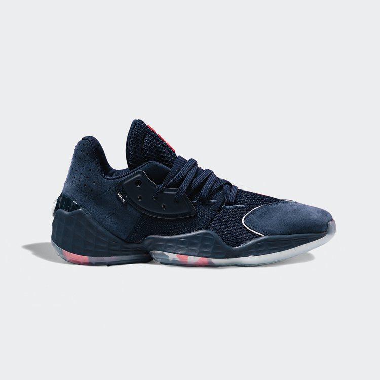 adidas Harden Vol. 4 USA籃球鞋4,690元。圖/adid...