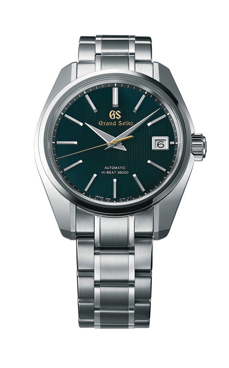 為了Grand Seiko雫石高級時計工坊成立,品牌也推出了限定當地銷售的特殊腕...