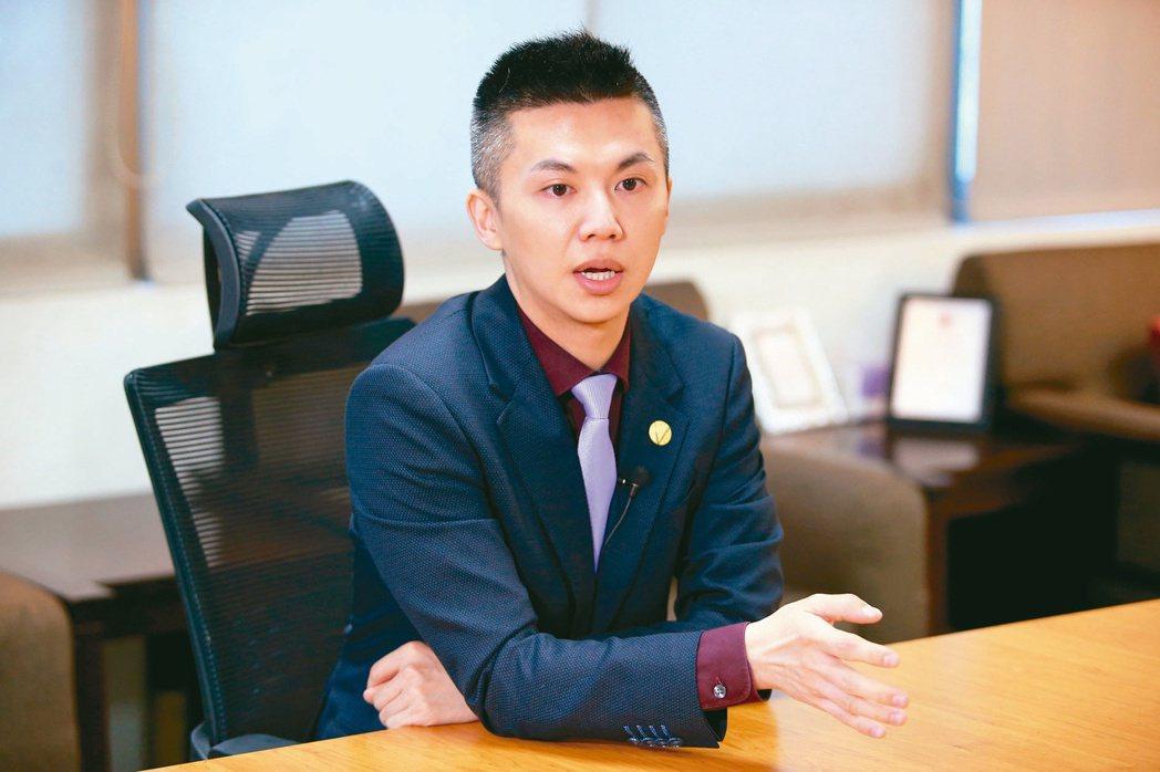 松珍生物科技執行長陳俊毓。記者余承翰/攝影