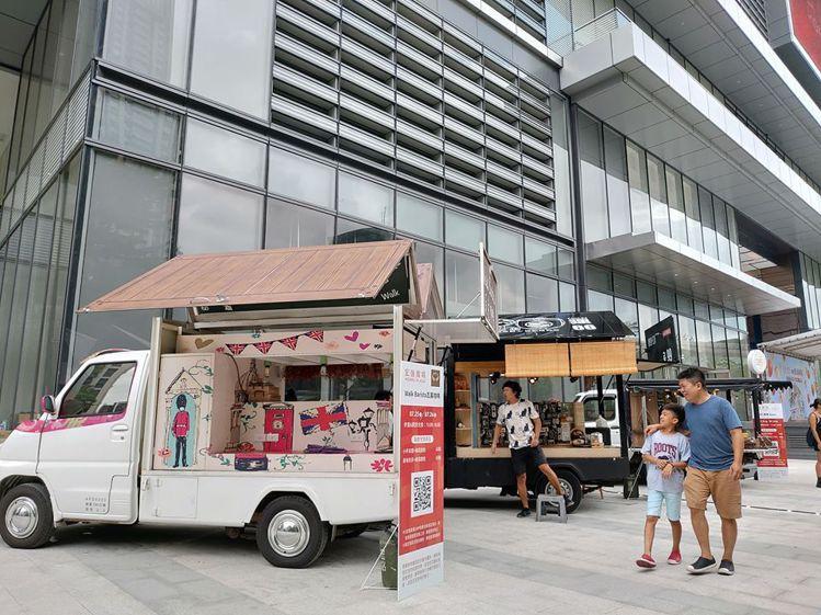 現場也有行動餐車進駐。圖/摘自宏匯廣場粉專