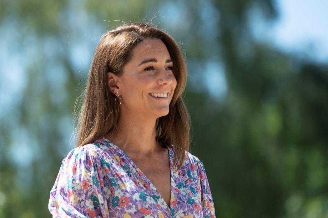 凱特在公開場合都笑容親切,卻對妯娌有很深的不滿。圖/路透資料照片