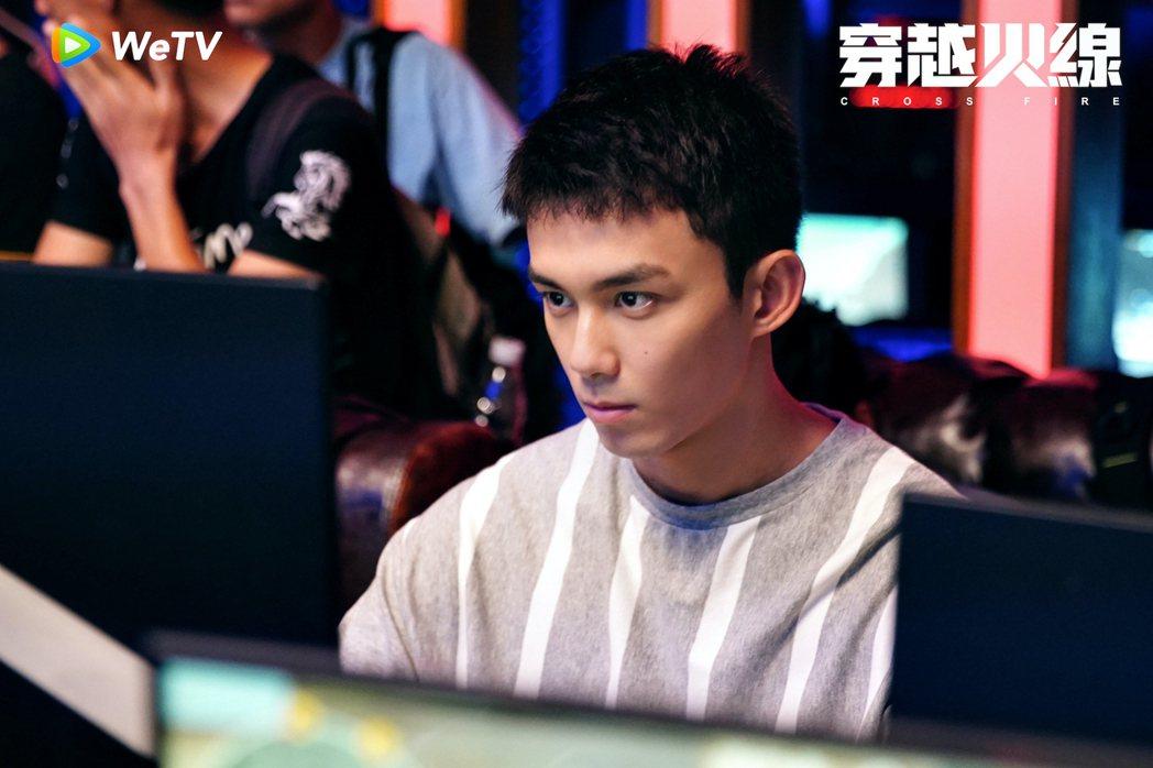 吳磊在「穿越火線」演出熱血青年。圖/WeTV提供