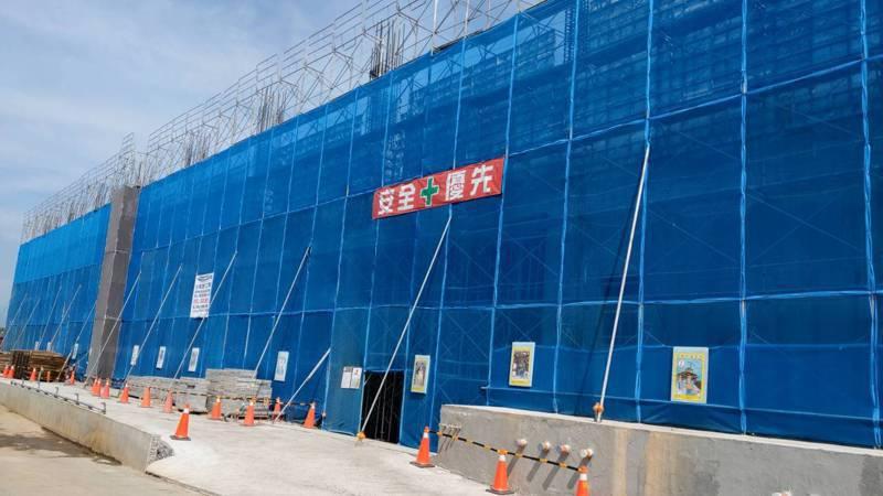 宜蘭科學園區目前正在興建二期廠房。記者戴永華/攝影