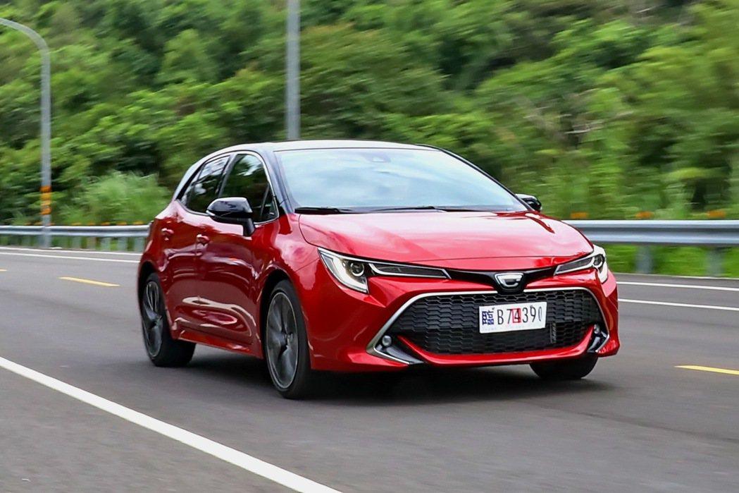TOYOTA Corolla Sport擁有相當具樂趣的駕馭感受。 記者陳威任/...