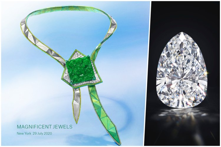 佳士得紐約瑰麗珠寶拍賣即將於7月29日登場。圖/佳士得、ANNA HU提供提供