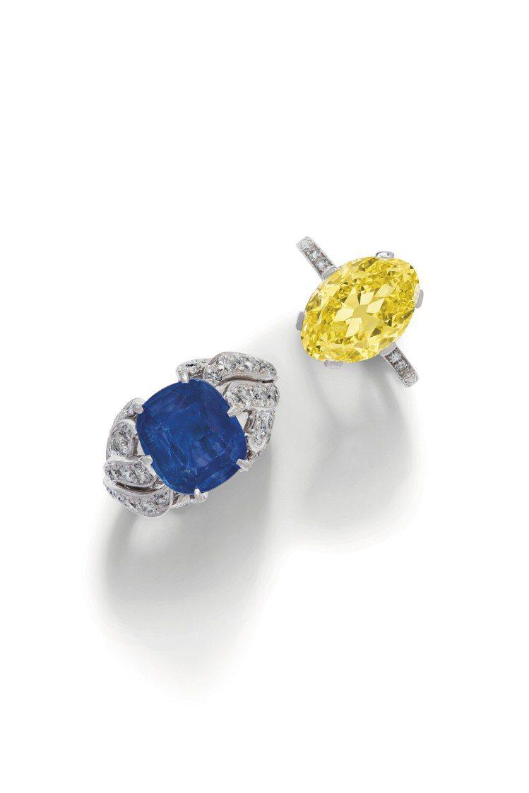 佳士得紐約瑰麗珠寶拍賣即將於7月29日登場。圖/佳士得提供