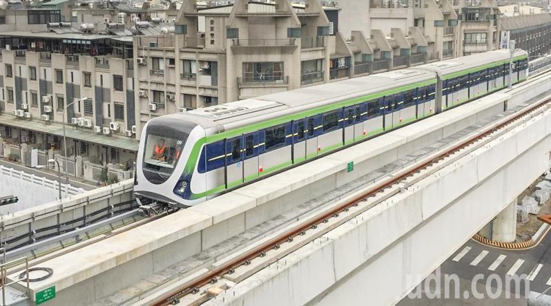 台中捷運綠線8月7日啟動初勘。圖/台中市交通局提供