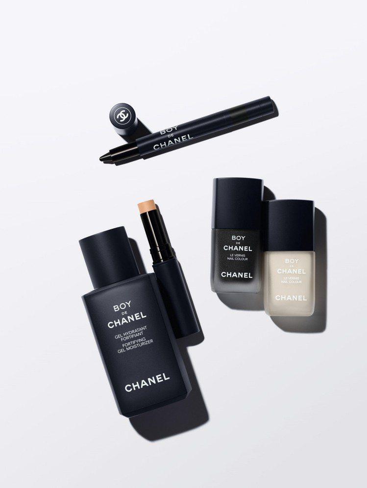 香奈兒推出新款BOY彩妝系列商品。圖/香奈兒提供