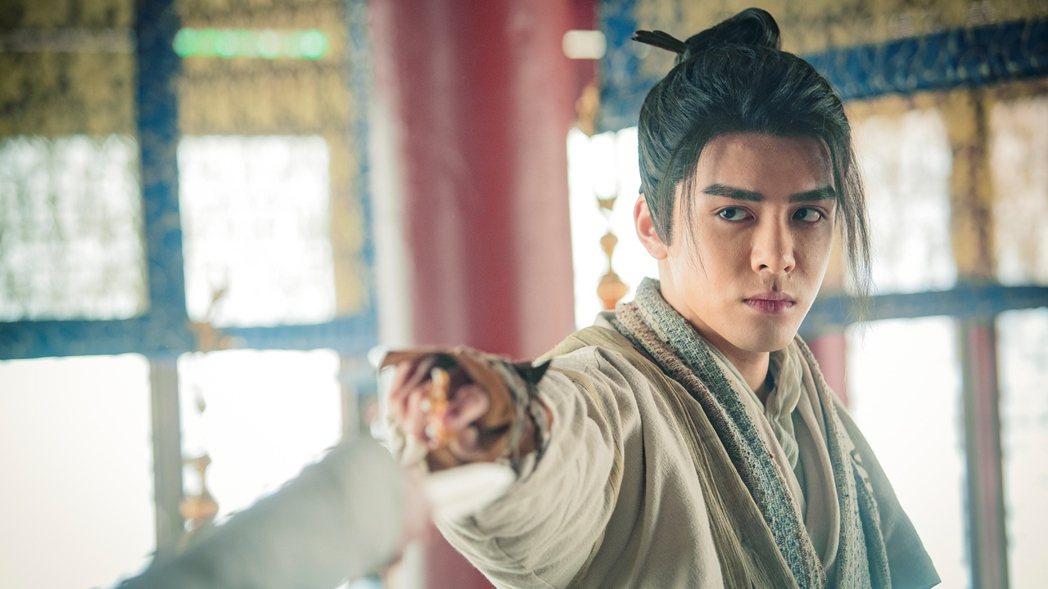 大陸新生代演員曾舜晞主演新版「倚天屠龍記」。圖/中視提供