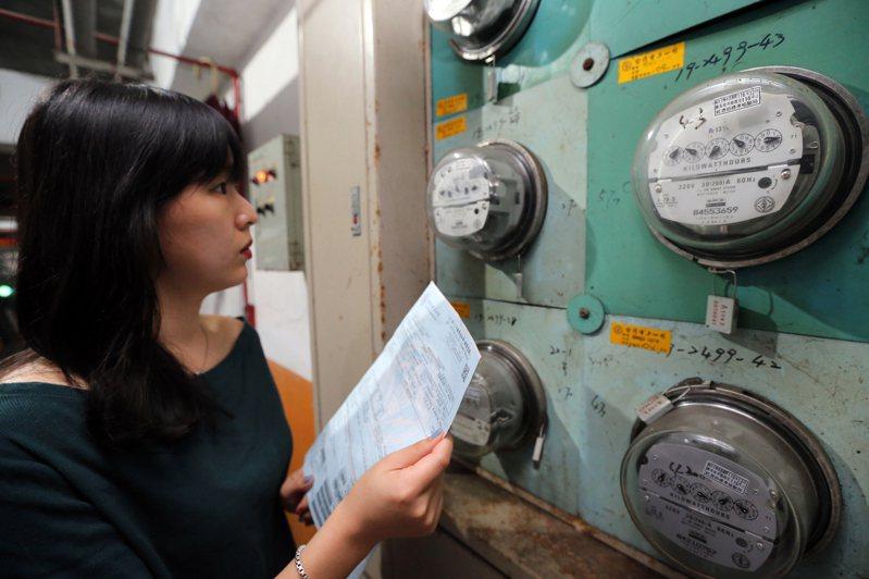 崔媽媽基金會建議房東為每個房間和公用電力裝設獨立電表,能減低房客疑慮,也比較公平。本圖為示意照片,與新聞當事人無關。圖/聯合報系資料照片