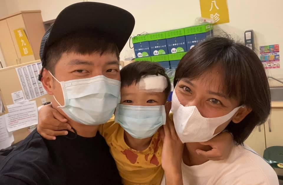 宥勝因兒子受傷,決定取消之後的行程。圖/摘自臉書