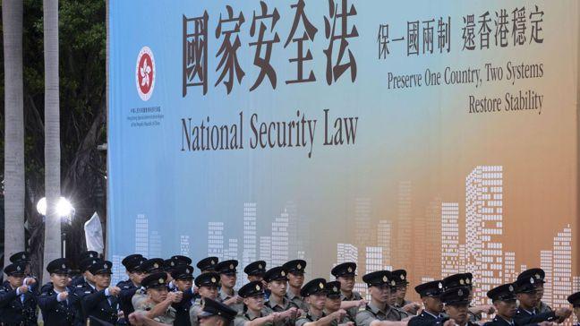 當中國大陸6月30日通過香港國安法,官員表示,只有「極少數罪犯」會受到影響。但短...