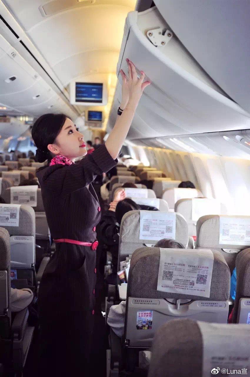 潘瑋柏老婆有大陸最美空姐之稱。圖/擷自微博