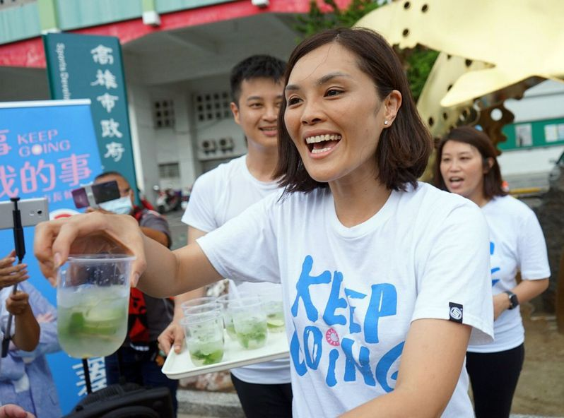 國民黨高雄市長候選人李眉蓁爆發論文抄襲爭議。圖/李眉蓁競選總部提供