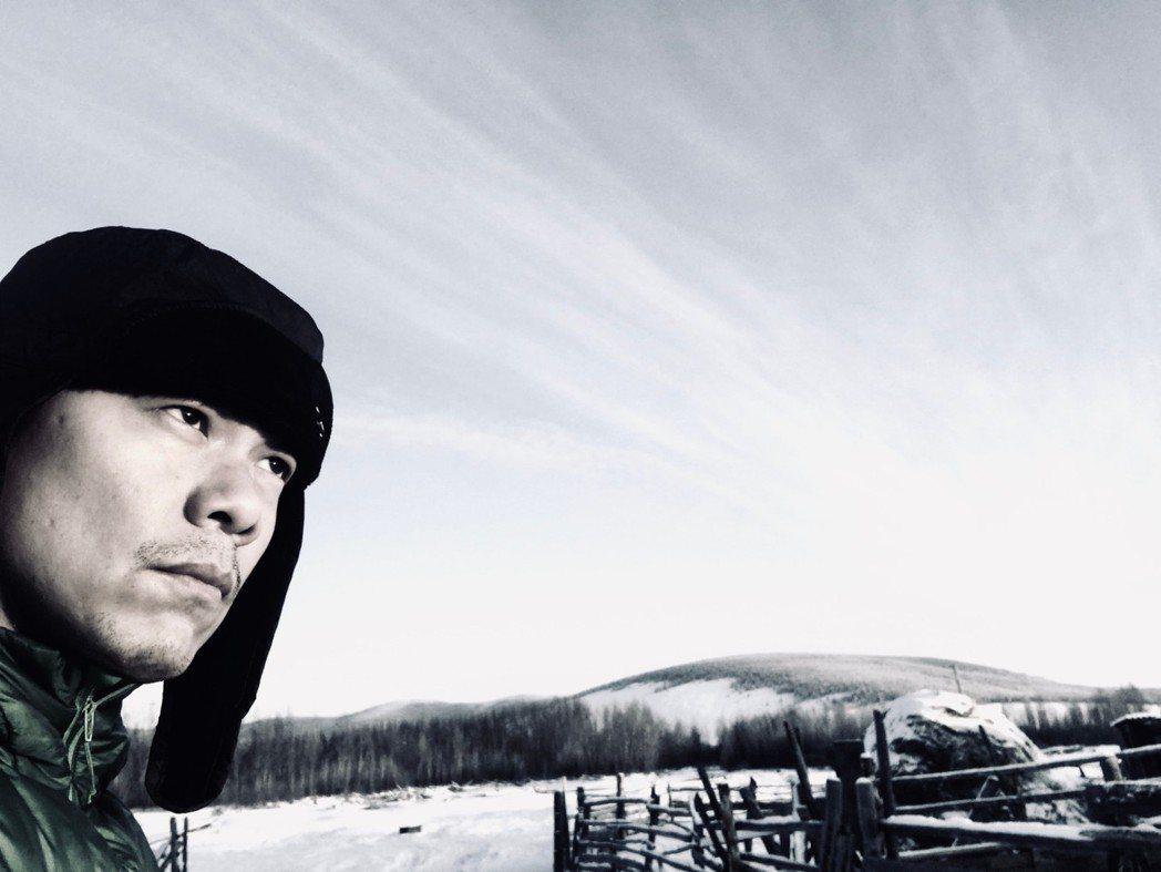 江振誠到西伯利亞拍紀錄片。圖/江振誠提供