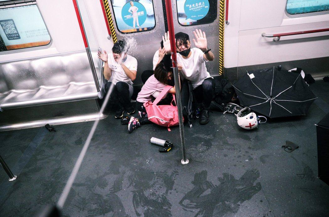 圖為2019年8月31日,香港太子站。 圖/美聯社