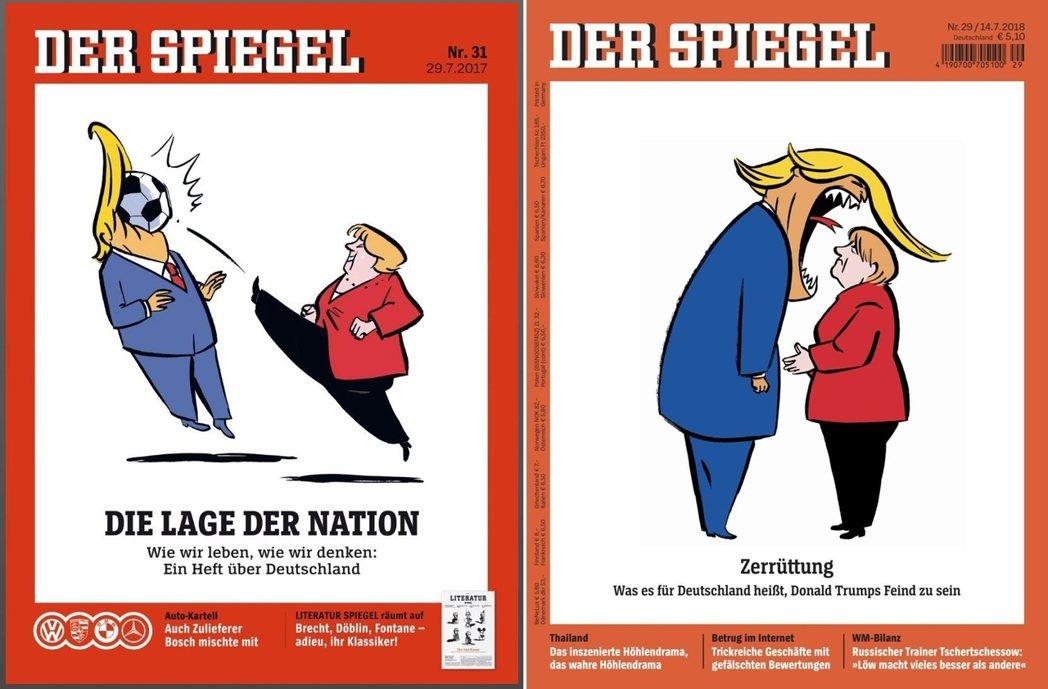 德國與美國、梅克爾與川普之間的冰凍三尺,已非一日之寒;事實上,雙方一連串不睦的根...