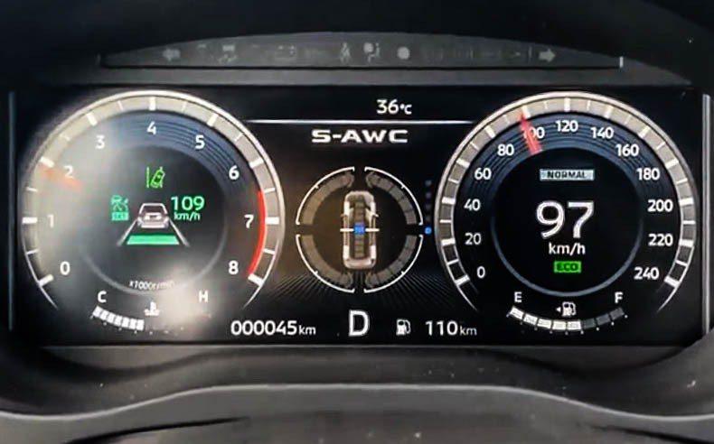 在ACC跟車與車道偏移警示的功能,在使用上相當順暢直覺不會有突兀感。 記者趙駿宏...