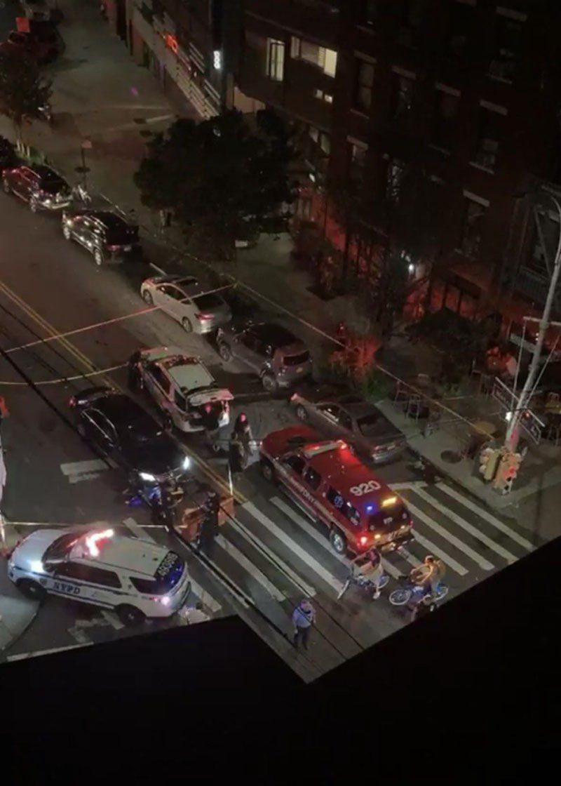 警車撞死摩托車司機。(圖片取自citizen)