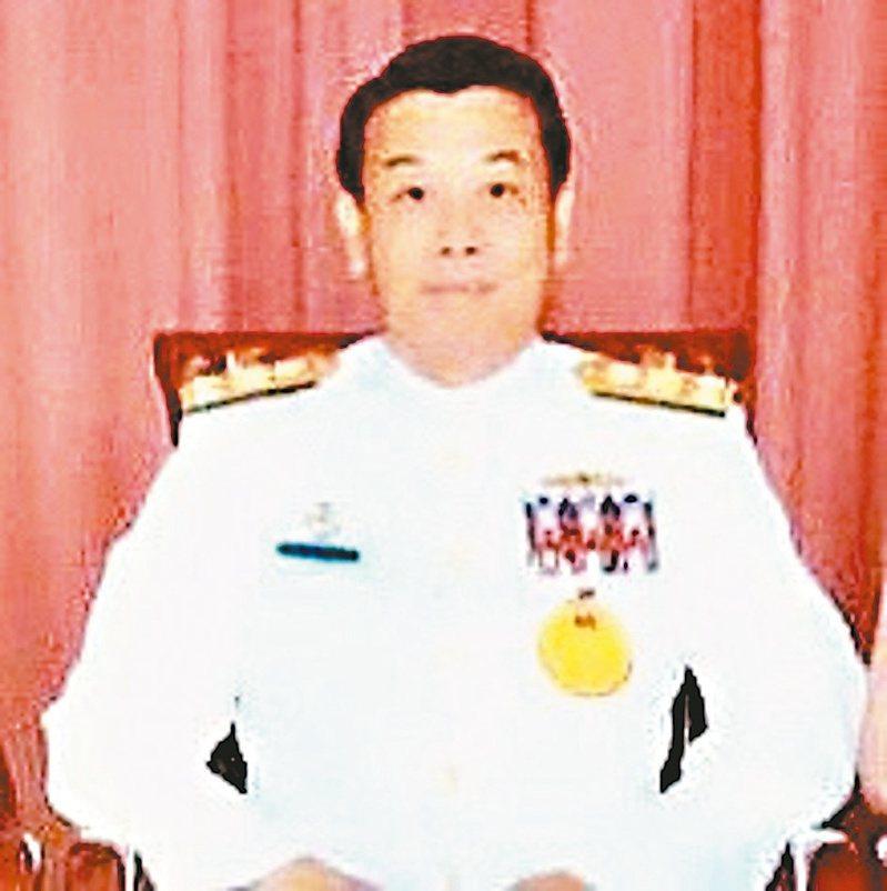 前海軍參謀長李晧中將。圖/取自李晧臉書網頁
