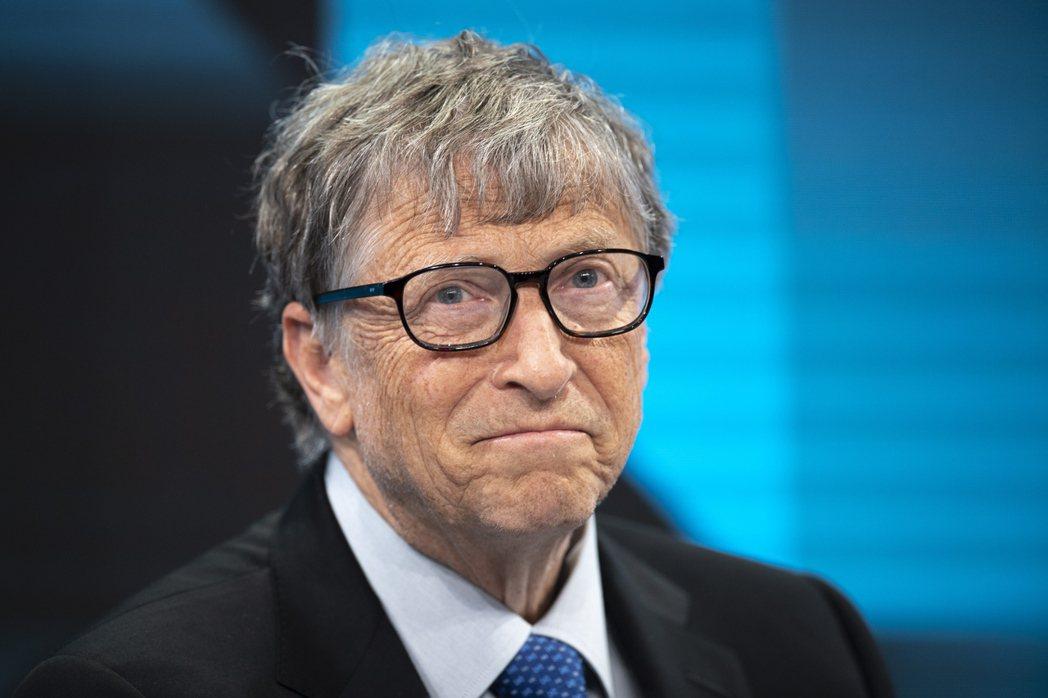 微軟共同創辦人比爾蓋茲。 (歐新社)