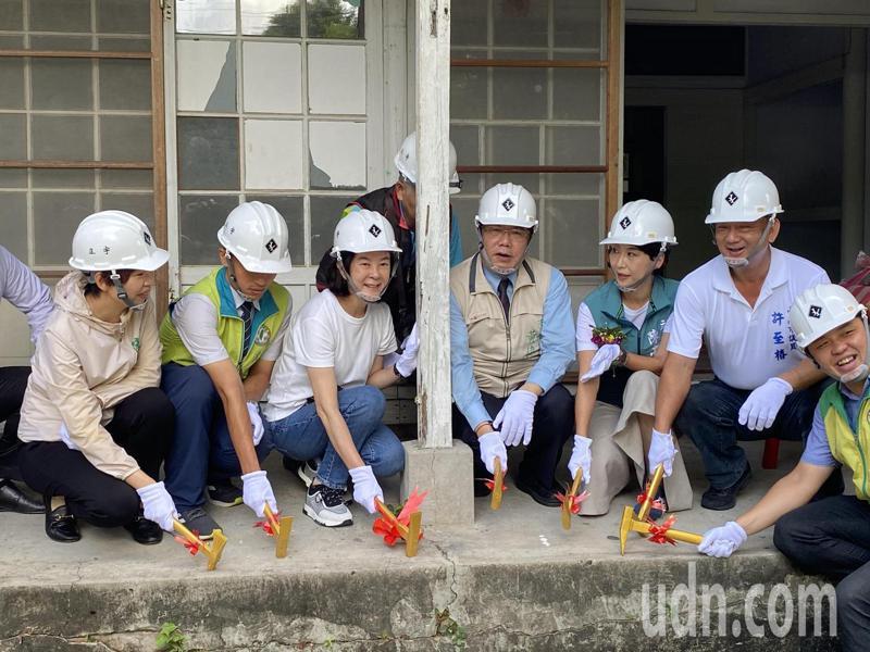 台南市定古蹟321巷藝術聚落今天動工整修。記者修瑞瑩/攝影