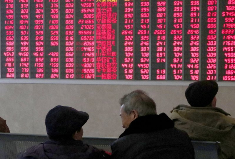 A股震盪修復,滬指漲0.09%。中新社