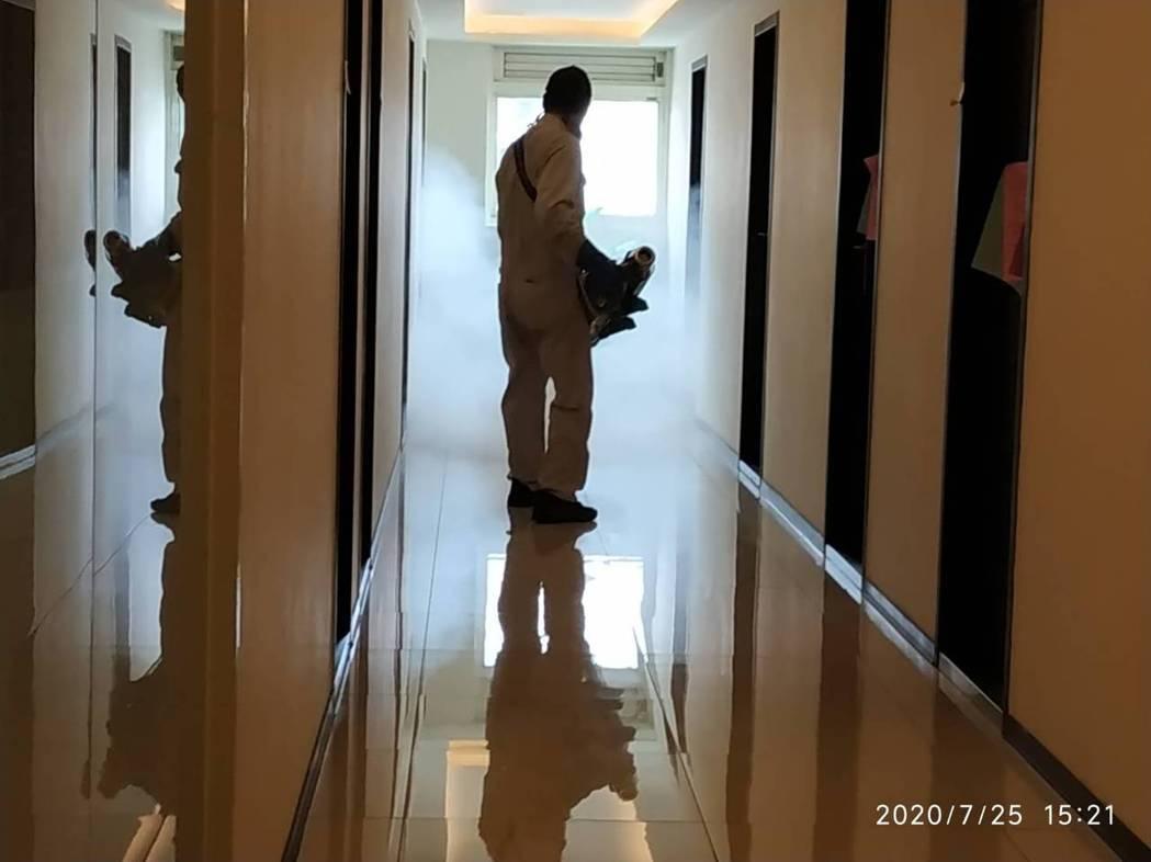桃園市昨天確診第3例本土登革熱病例,由於第2、第3例皆在長安里檢出,研判為社區感...