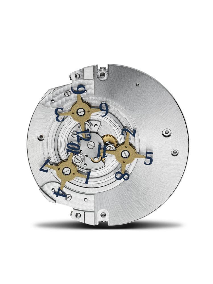 江詩丹頓1120自動上鍊機芯具備的衛星小時顯示系統,構成The Shining ...