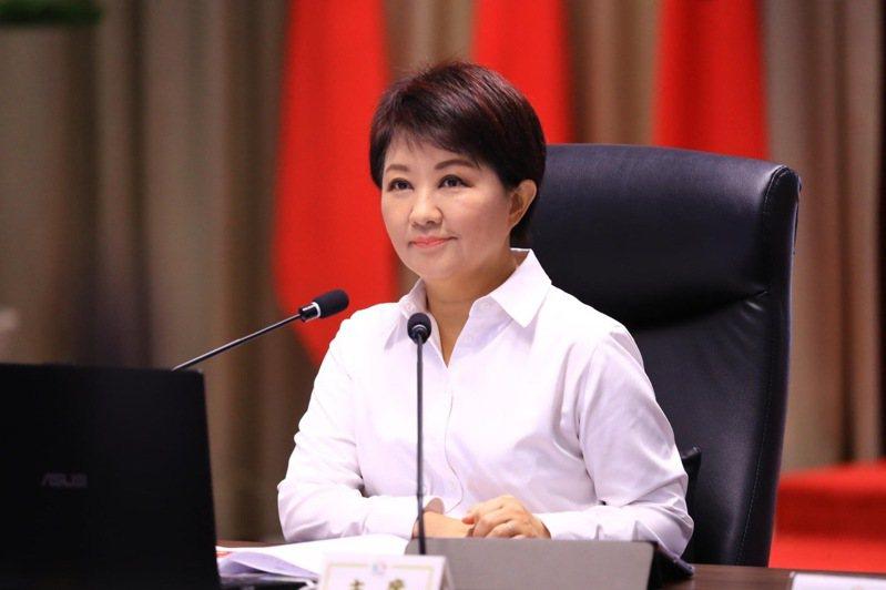 台中市長盧秀燕請假十天手術,預告明天重返市政府。圖/台中市新聞局提供