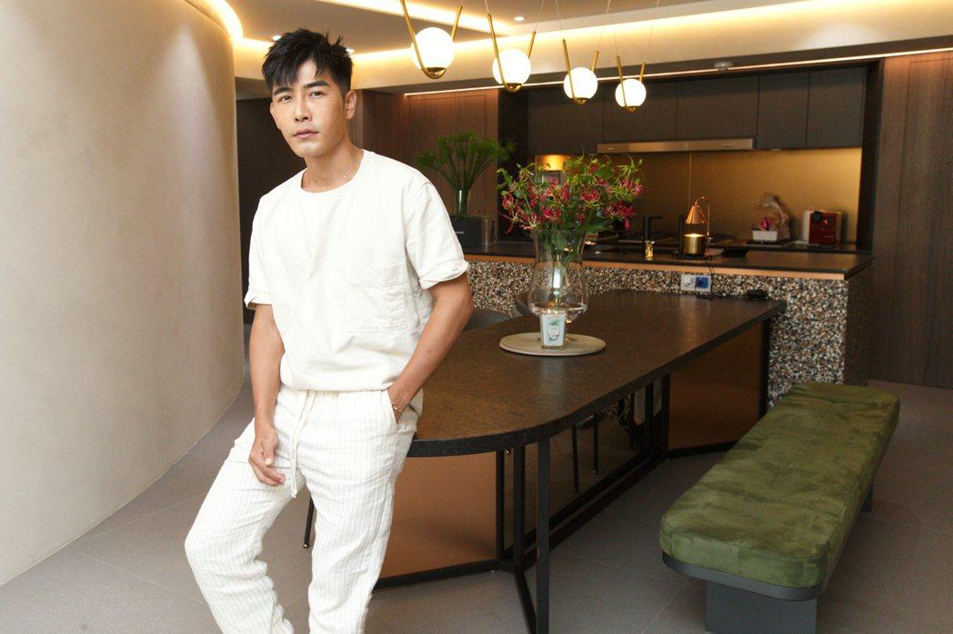 森田的廚房也是重新設計。記者林伯東/攝影