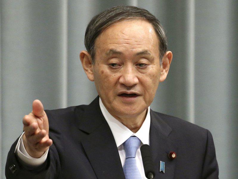 日本內閣官房長官菅義偉。(美聯社)