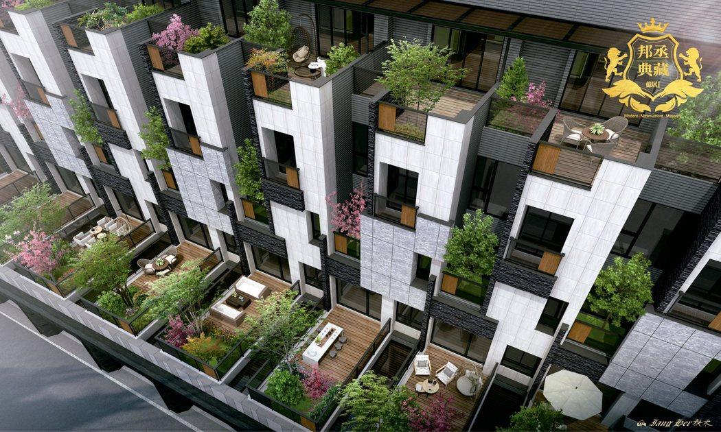 邦丞典藏.億居I,精心規劃一屋一樹景觀,創造城市中難能可貴的悠閒自在。 業者/提...