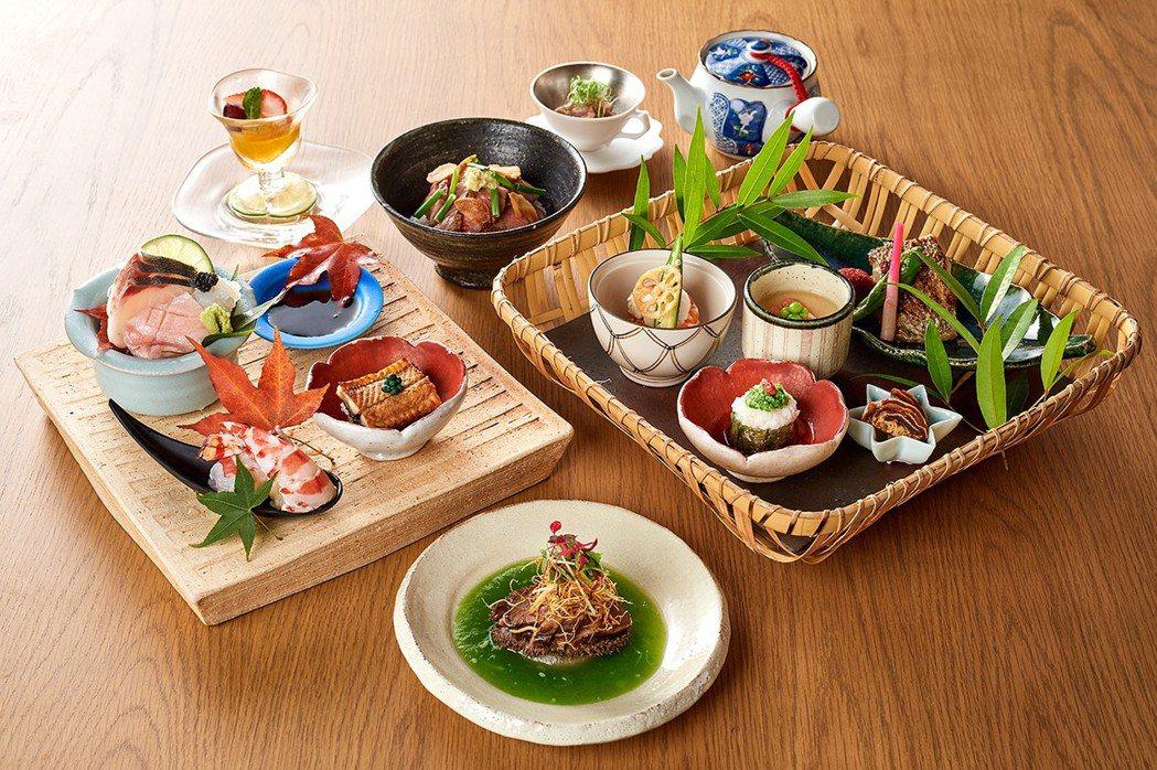 晴山日本料理料理長特別推薦套餐。業者/提供