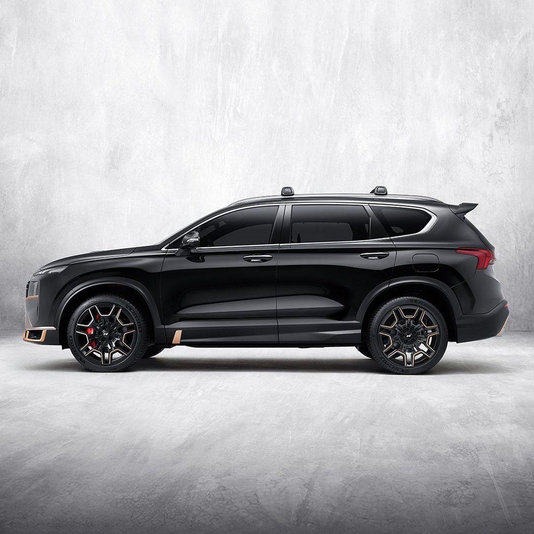 專屬小改款Hyundai Santa Fe的全新N Performance套件確...
