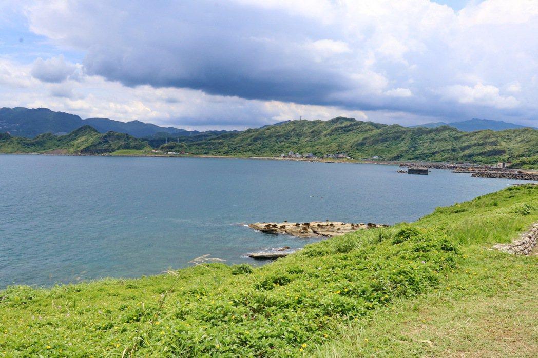 潮境公園周邊景色相當壯麗。 記者陳威任/攝影