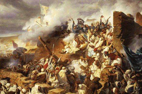 19世紀中葉,反抗法國殖民阿爾及利亞,於1838到1865年之間戰死的24位戰士...