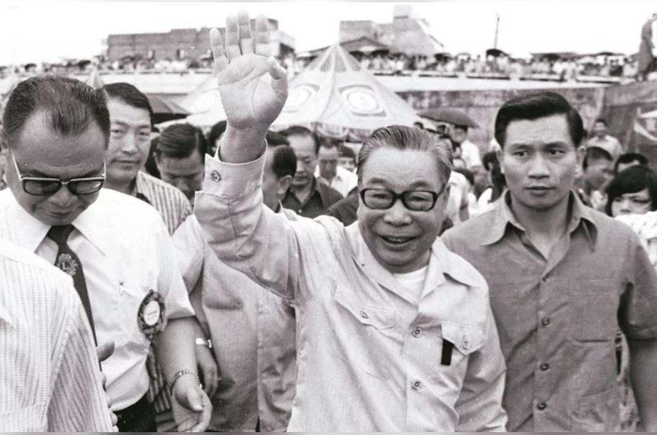 前總統蔣經國。 圖/聯合報系資料照片