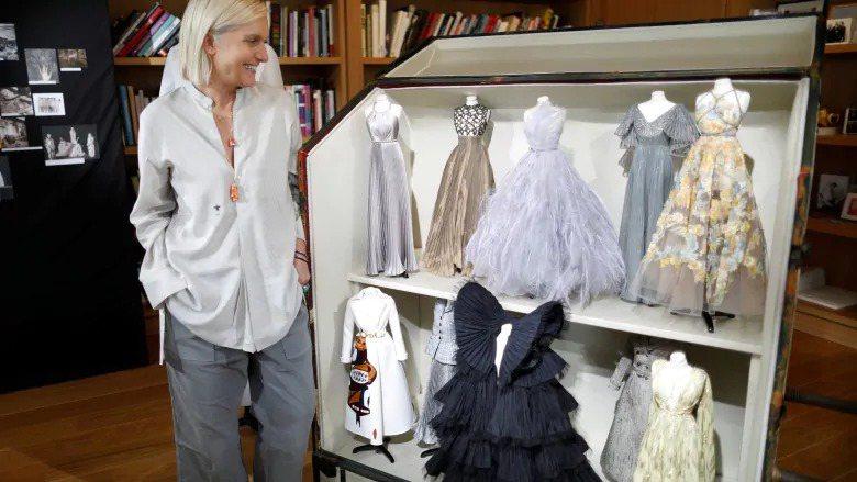 圖為Dior女裝創意總監Maria Grazia Chiuri。路透