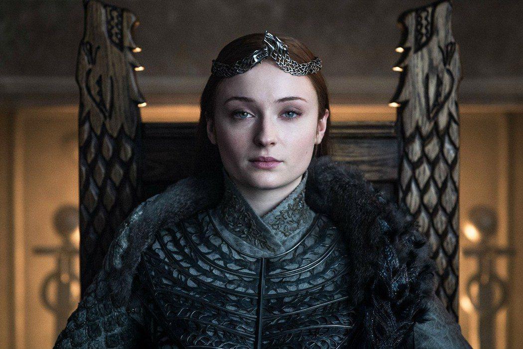 蘇菲透納因主演「冰與火之歌:權力遊戲」走紅,也以劇中人物為女兒命名。圖/摘自HB