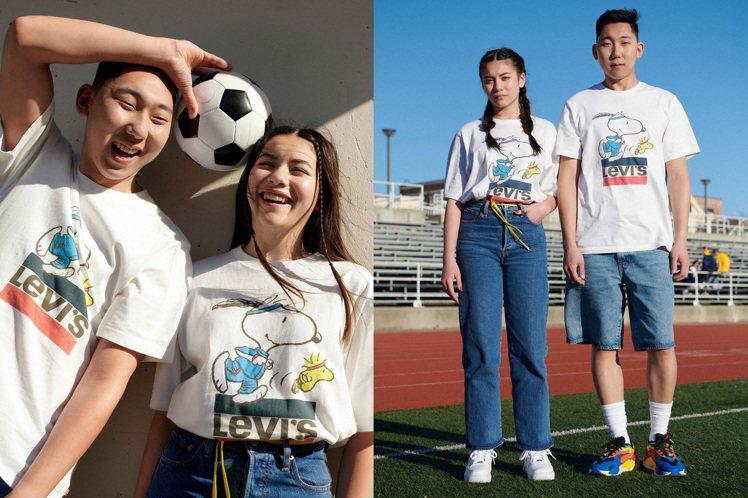 丹寧品牌LEVI'S與超人氣的Snoopy三度合作,推出夏日趣玩運動會聯名系列。...